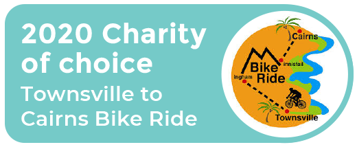 2020 Charity of choice Townsville to Cairns Bike Ride